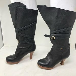 7 for all mankind heeled boots 7.5 C1